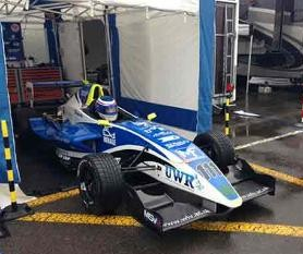 University of Wolverhampton Formula 1 car